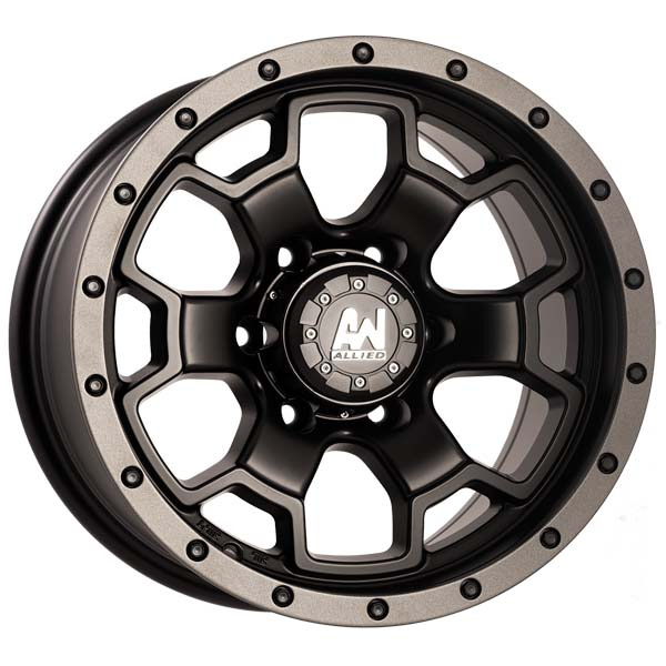 Wasp Machined Black 4wd Wheels